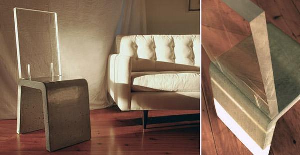 Мебель из бетона - INTERNUM