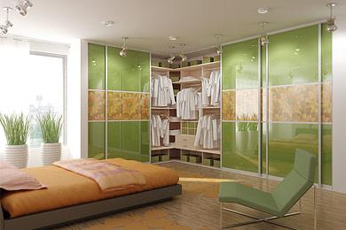 Дизайн и интерьер гардеробной. Практические советы и идеи ... Дизайн Спальни С Угловой Гардеробной