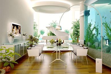 Дизайн интерьера кухни столовой лучшие проекты